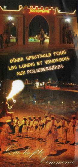ambiances festives les folies berbères Agadir Evenementiels.com